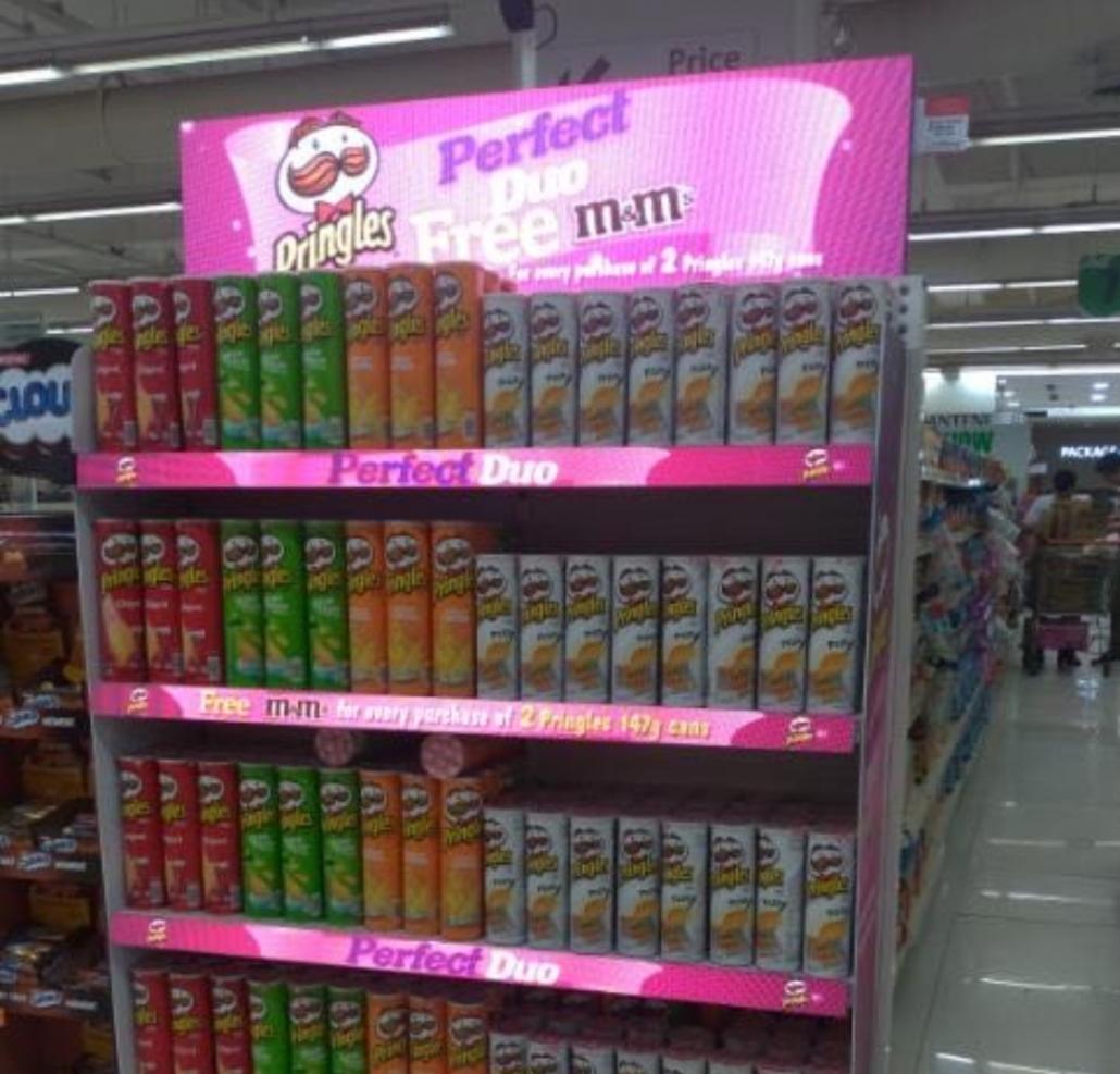 超市货架屏
