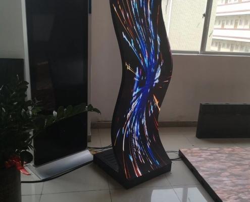 led曲面显示屏-led软模组
